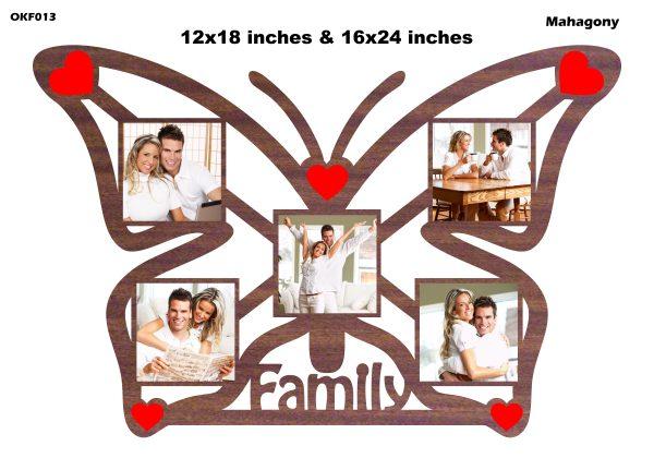 Beautiful Butterfly Frame OKF013