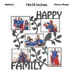 Happy Family Frame OKF016