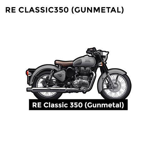 RE Classic Gunmetal 350 CC