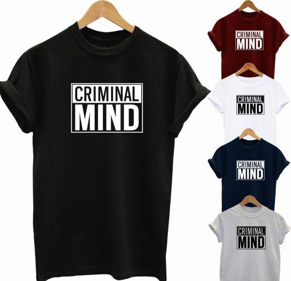 Criminal Mind T Shirt