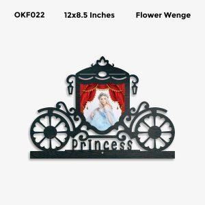 Personalized Princess Photo Frame OKF22
