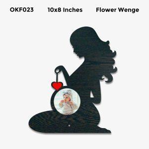 Best Personalized Pregnancy Photo Frame OKF23