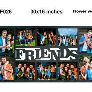 Best Personalized Friends Photo Frame OKF26