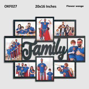 Best Personalized Family Photo Frame OKF27