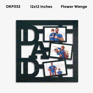 Best Personalized DAD Photo Frame OKF032