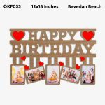 Happy Birthday Photo Frame OKF033