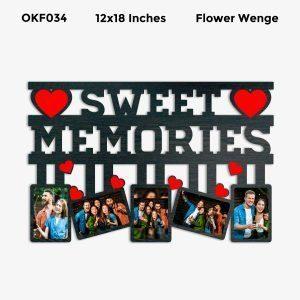 Best Personalized Sweet Memories Photo Frame OKF034