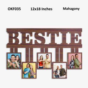 Best Personalized Bestie Photo Frame OKF035