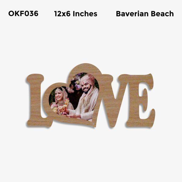 Love Photo Frame OKF036