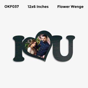 Best Personalized I Love You Photo Frame OKF037