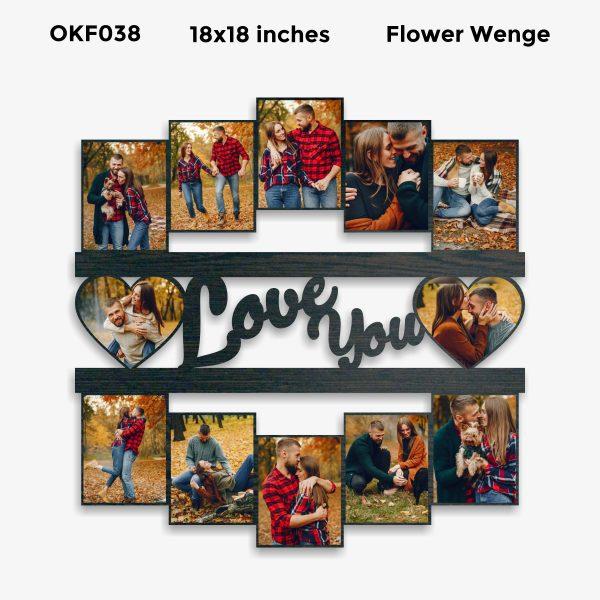 Love You Photo Frame OKF038