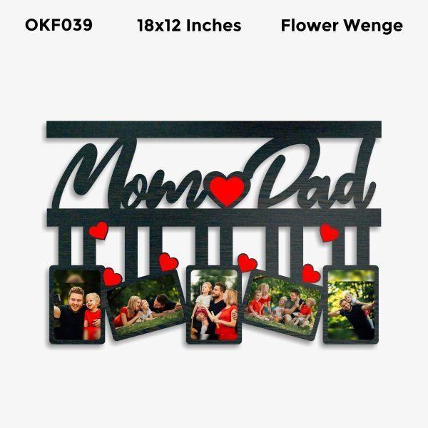 Mom Dad Photo Frame OKF039