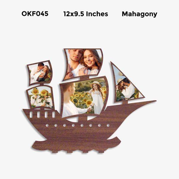 Personalized Ship Photo Frame OKF045