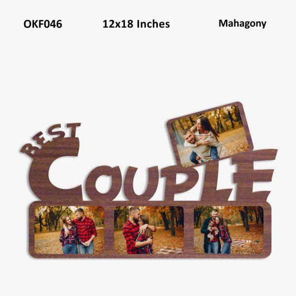 Best Couple Photo Frame OKF046