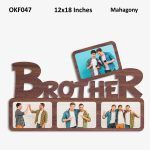 Personalized Brother Photo Frame OKF047