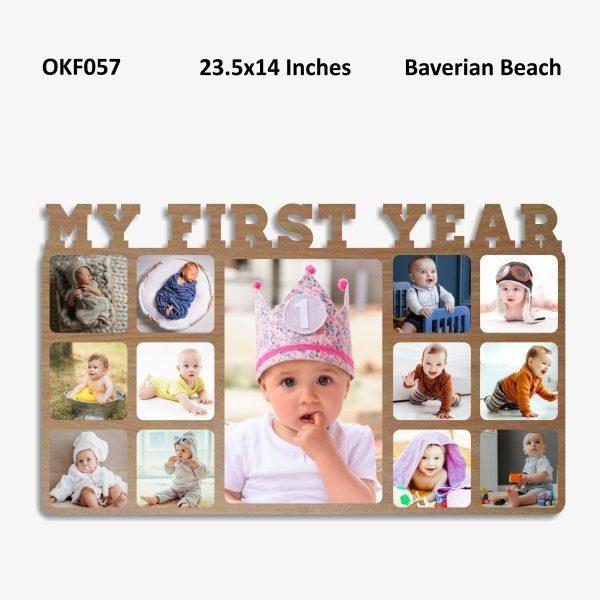 My First Year Photo Frame OKF057