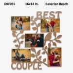 Best Couple Photo Frame OKF059