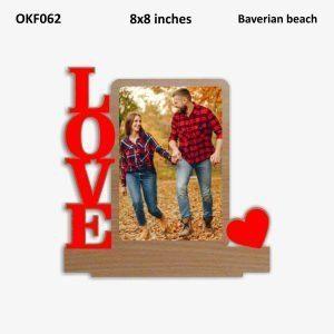 Buy Best Love Photo Frame OKF062