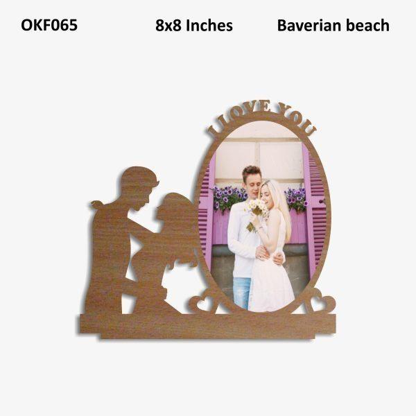 Love You Photo Frame OKF065