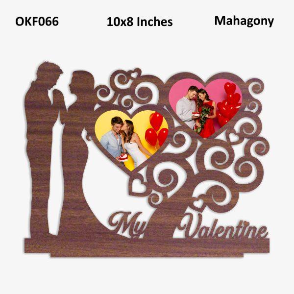 My Valentine Photo Frame OKF066