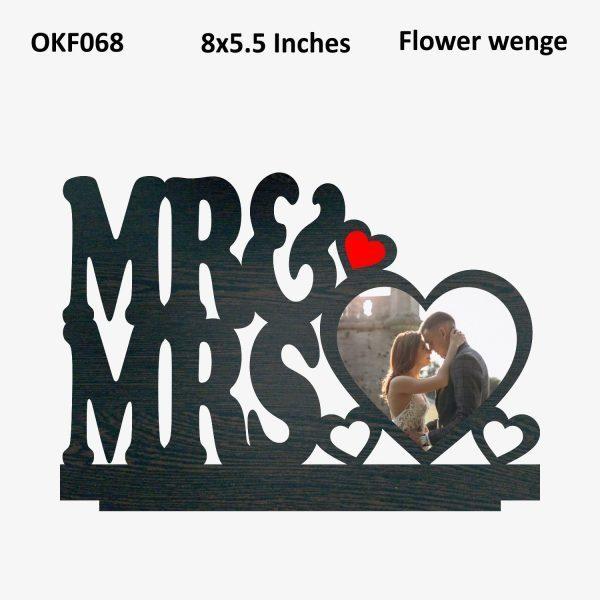 Mr And Mrs Photo Frame OKF068