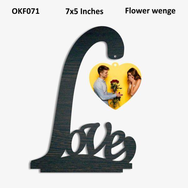 Love Hanging Photo Frame OKF071