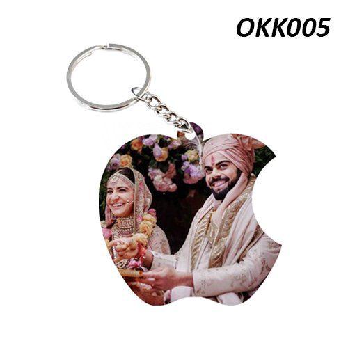 Wooden Keychain Apple OKK05