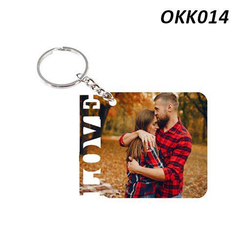 Wooden Keychain Love OKK14