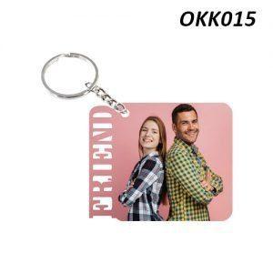 Free Ship Buy Custom Wooden Keychain Friend OKK15