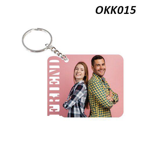 Wooden Keychain Friend OKK15