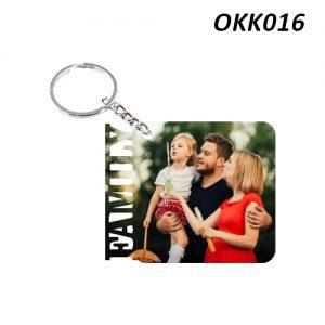 Free Ship Buy Custom Wooden Keychain Family OKK16