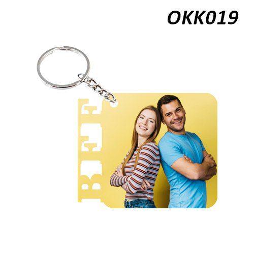 Wooden Keychain BFF OKK19