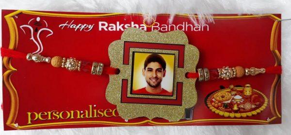 Personalized Photo Rakhi OKSR003