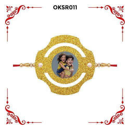 Personalized Photo Rakhi OKSR011