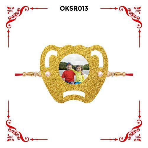 Personalized Photo Rakhi OKSR013