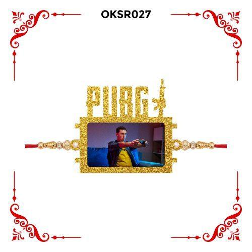Personalized PUBG Photo Rakhi OKSR27