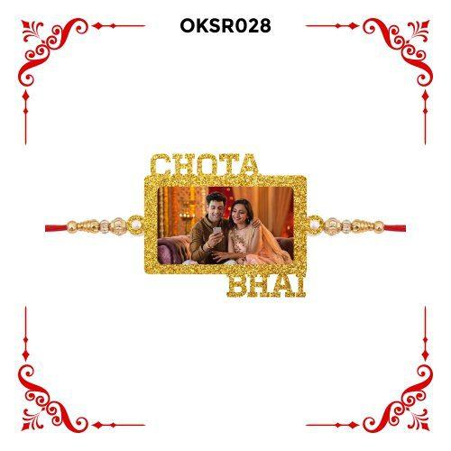 Personalized Chota Bhai Photo Rakhi OKSR28