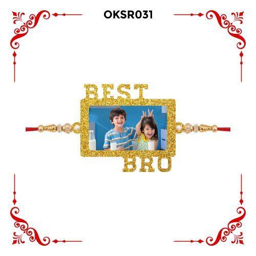 Personalized Best Bro Photo Rakhi OKSR31