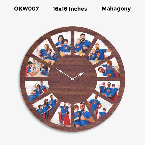 Designer Personalized Clock OKW007