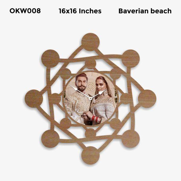 Personalized Clock OKW008