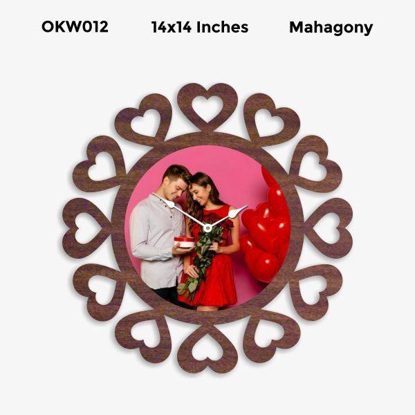 Personalized Clock OKW012