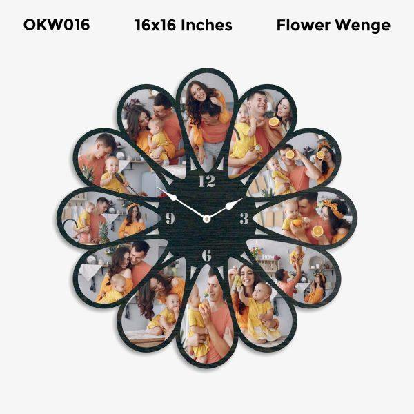 Designer Personalized Clock OKW016