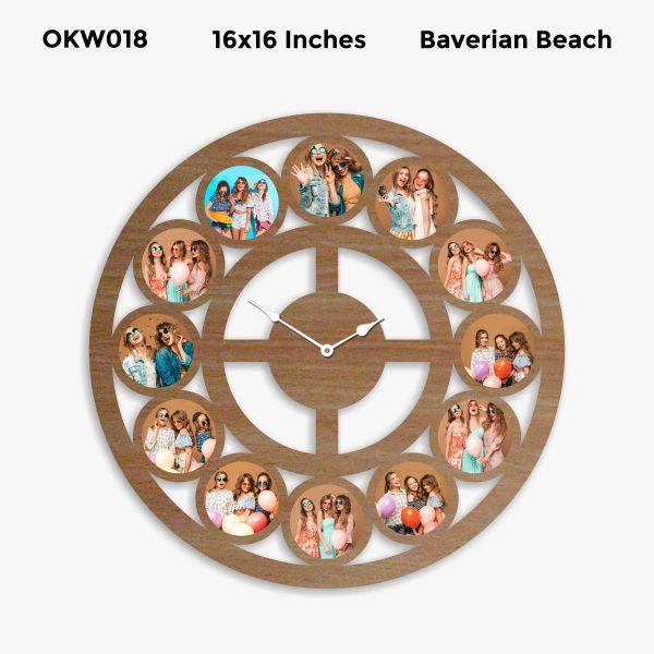 Personalized Clock OKW018