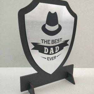 Trophy Best Dad Ever Engraved