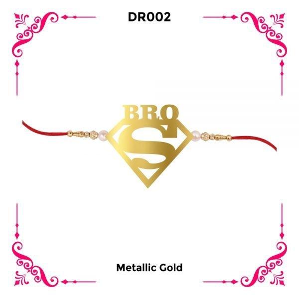 Super Bro Designer Rakhi DR02